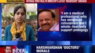 Harshvardhan denies proposing ban on the sex education