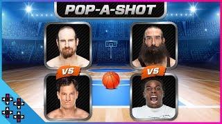 Ouça POP-A-SHOT ARCADE BASKETBALL TOURNAMENT 1: Creed vs Harper & English vs Gulak
