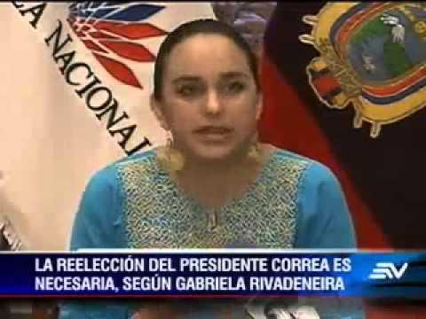 REELECCION 2017 RAFAEL CORREA :Oficialismo planteara  la reeleccion del Presidente de la Republica
