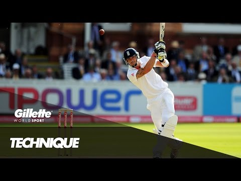 YouTube Exclusive - Kevin Pietersen Explains the Flamingo Shot | Gillette World Sport