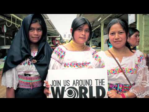 Otavalo Ecuador - Largest Outdoor Market in South America - Join Us Around the World.com