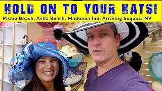 Former World Clam Capital | Madonna Inn Cake | Arriving Seqouia NP | The Motorhome Experiment