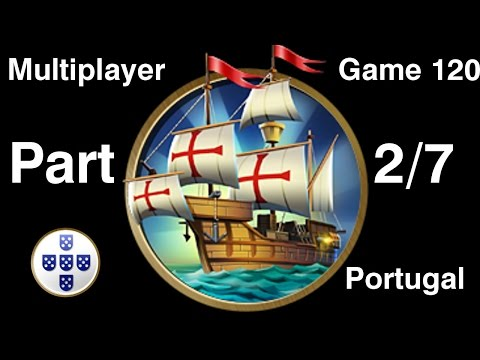 Civilization 5 Multiplayer 120: Portugal [2/7] ( BNW 6 Player Free For All) Gameplay/Commentary