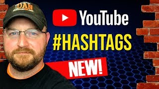 YouTube Hashtags 2018 NEW Feature - But How Do We Use Them?!