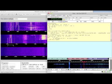Decoding digital hamradio traffic without a radio