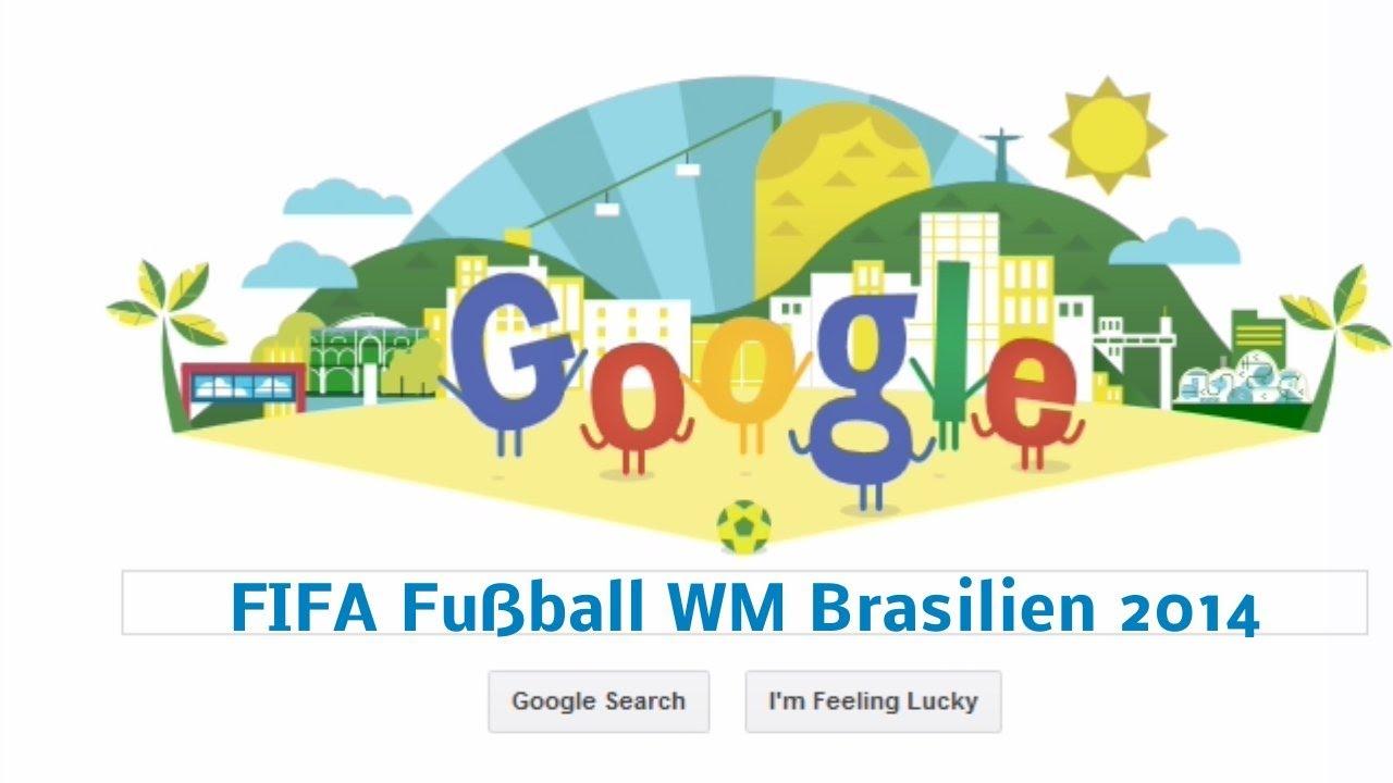 Fußball MW 2014 (Google-Doodle)