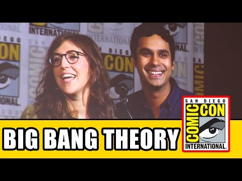 The Big Bang Theory Comic Con 2015 Panel - Kunal Nayyar & Mayim Bialik