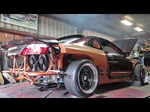 Stroker 2JZ S15 hits the DYNO!
