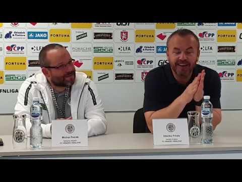 Tisková konference po utkání FC Hradec Králové - 1. SK Prostějov