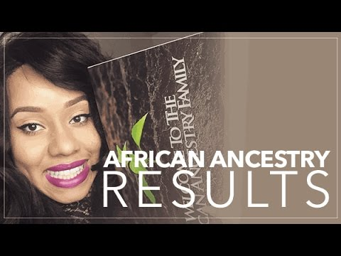 My African Ancestry Results! @AfricanAncestry