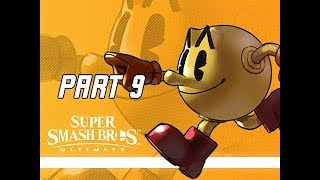 SUPER SMASH BROS ULTIMATE Gameplay Walkthrough Part 9 - PAC MAN