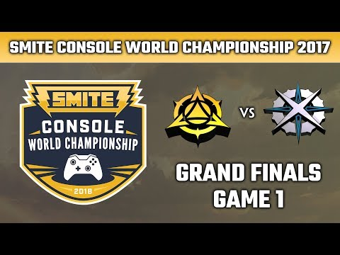 SMITE Console World Championship 2018: Grand Finals - Myth Gaming vs. Astral Authority (Game 1)