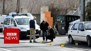 France hostage crisis: Police shoot supermarket gunman - BBC News