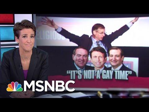 GOP Hopefuls Speak At Anti-Gay Conference   Rachel Maddow   MSNBC