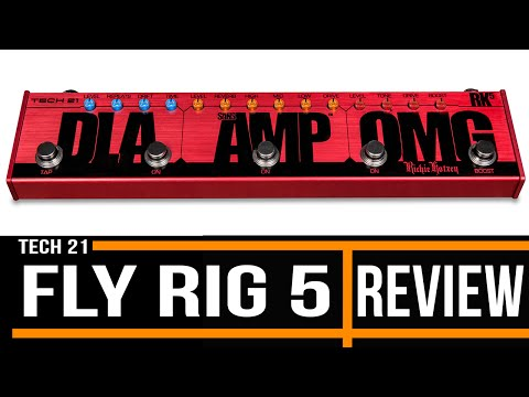 Tech 21 Fly Rig 5 | Guitar Effects Review | Michael Casswell