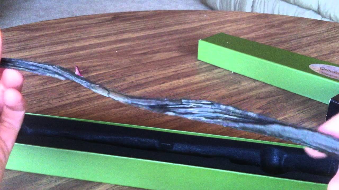 Grindelwald wand review noble collection youtube for Grindelwald s wand