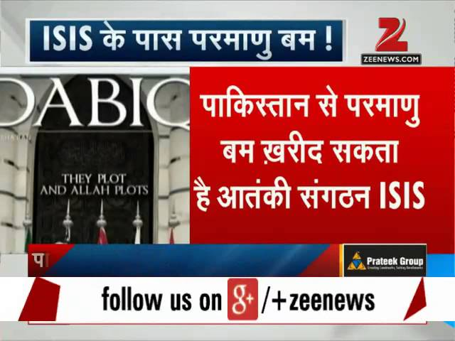 ISIS to buy first nuclear weapon from Pak?