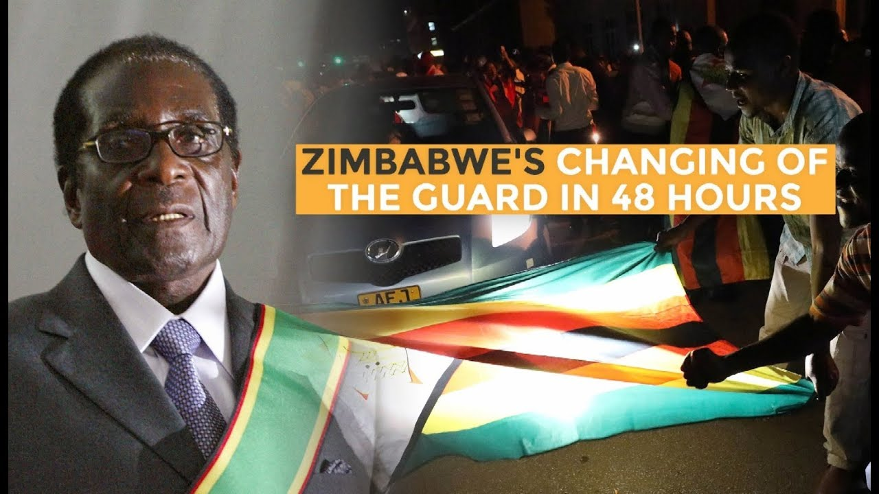 Zimbabwe's changing of the guard in 48 hours