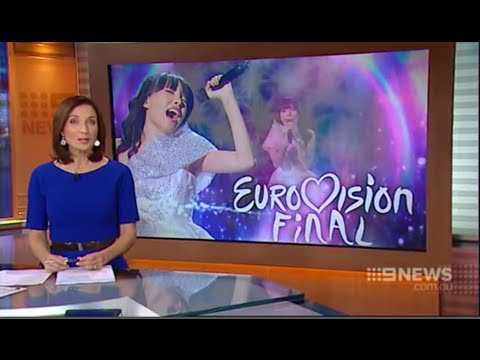 Dami Im - The hope of Australia For Eurovision - Channel 9 Br News