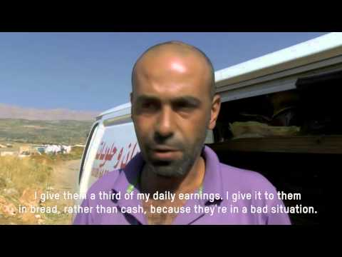 Syrian refugees face financial strife in Lebanon
