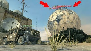 ALL OF THEM WERE HIDING ON TOP OF THE DOME!?!?!? HIDE AND SEEK ON MW3