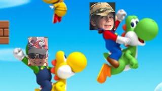 We are the Super ka pow bros  super Mario bros 🌪