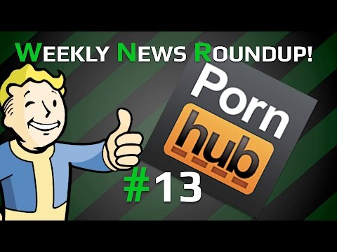 Weekly News Roundup! #13! FALLOUT 4 ON PORNHUB!!, RESIDENT EVIL 2 REMAKE CONFIRMED!!