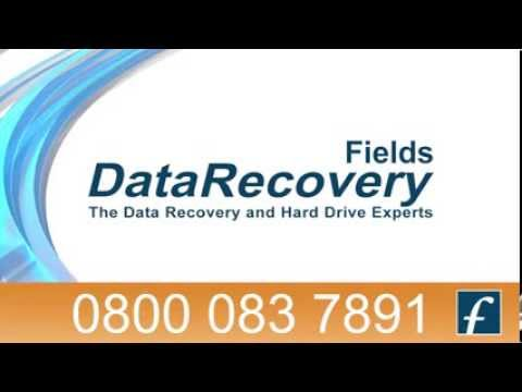 Fields Data Recovery Advert