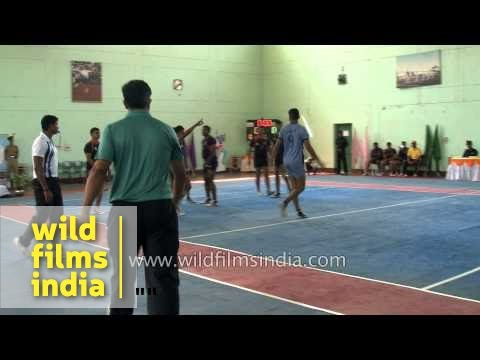 Kabaddi - National Game Of Bangladesh And Nepal video