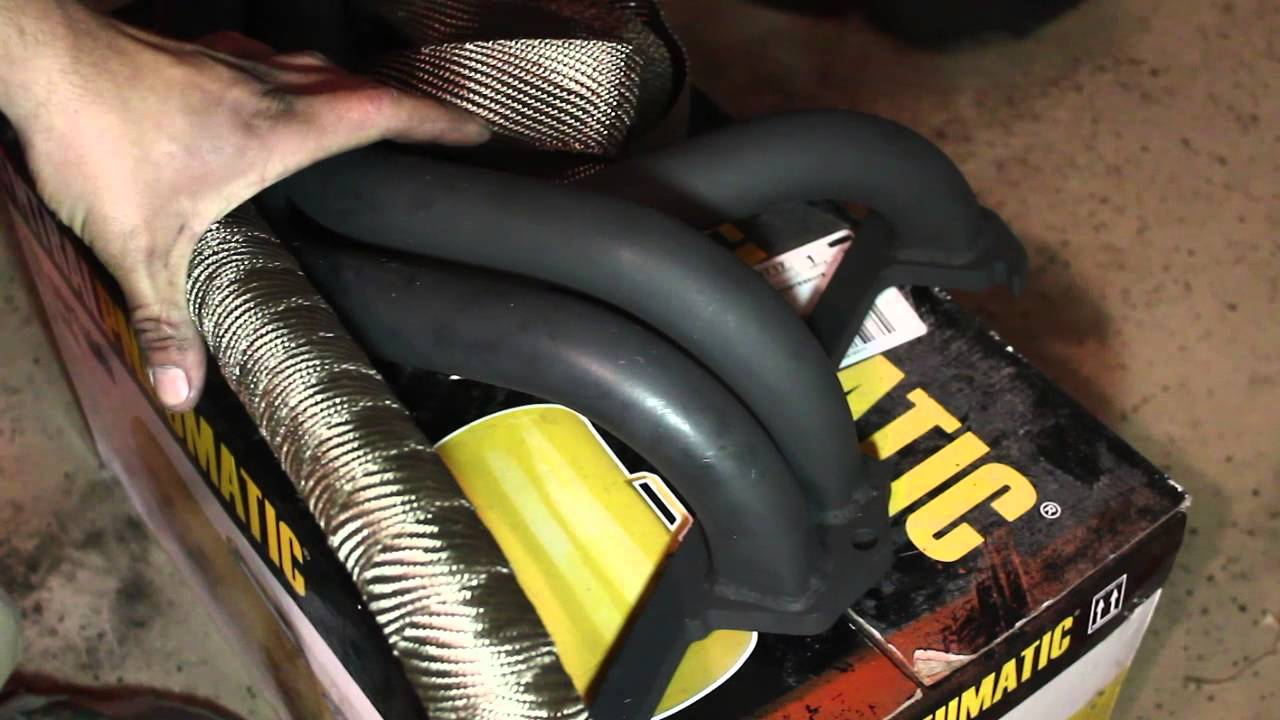 DEI Exhaust Header Wrap - B18 Volvo 122 Amazon - IPD Build Off Production Video Diary 17 - YouTube