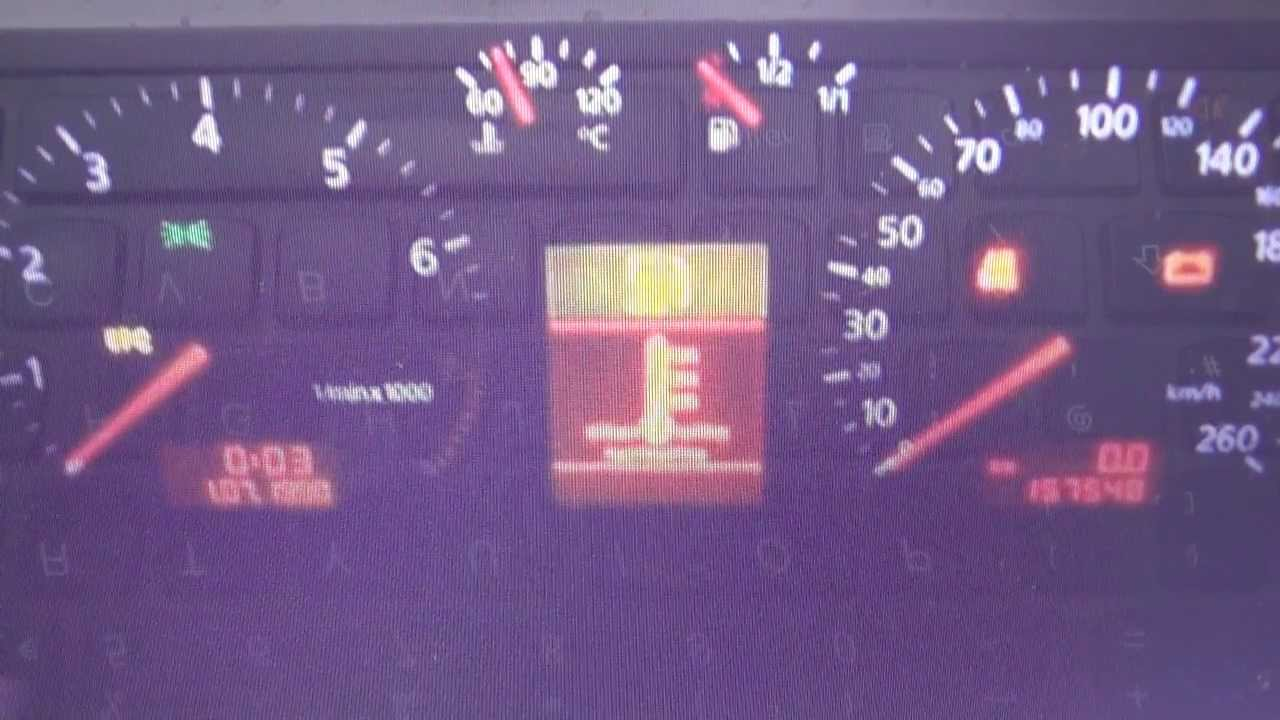 Audi A4 B5 ABS warning light dash lamp how to remove - YouTube