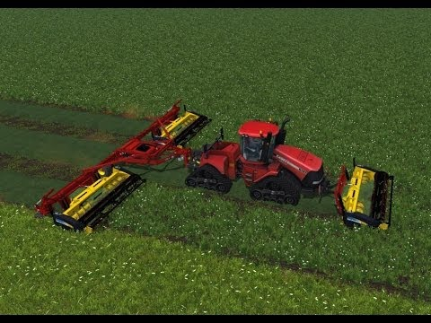 Farming Simulator 2013 Mods - Mower PhiBer Triple Cutter Tool Bar