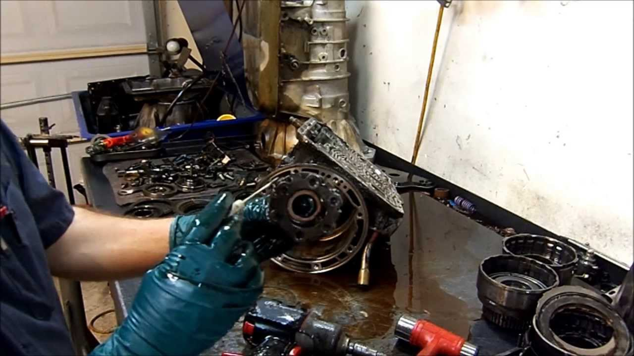 4r44e Transmission Teardown Inspection