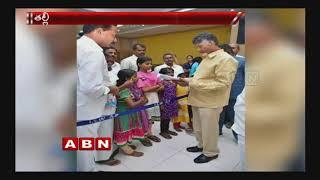 AP CM Chandrababu Naidu financial aid for orphan children in Krishna district