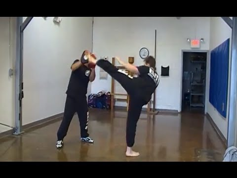 Jeet Kune Do - Kickboxing Combo # 1 w/ Variations Image 1