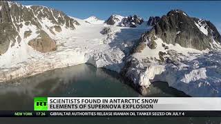 Dust from supernova found in Antarctica's snow
