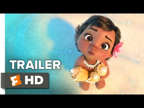 Moana Official Trailer - Japanese Teaser (2016) - Dwayne Johnson Movie