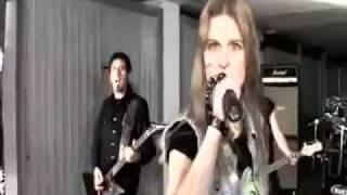 Watch White Skull Heavy Metal Axes video