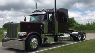 Custom Build 2017 Peterbilt 389 for Paul Sagehorn