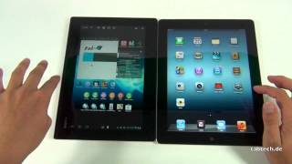 Sony Xperia Tablet S vs. new Apple iPad 3 - english
