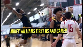 Mikey Williams & Compton Magic Get Tested At Adidas Gauntlet LA!!