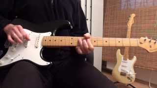 Fernandes The Revival Vintage Strat - Blues Improvisation