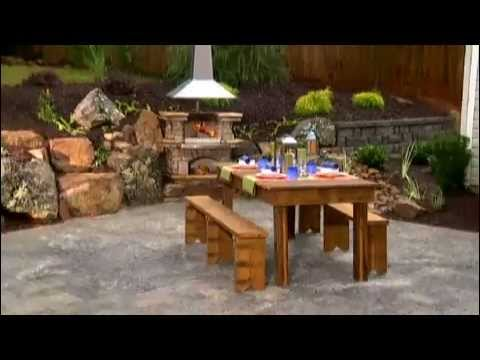 paver patio and outdoor grill install backyard makeover youtube