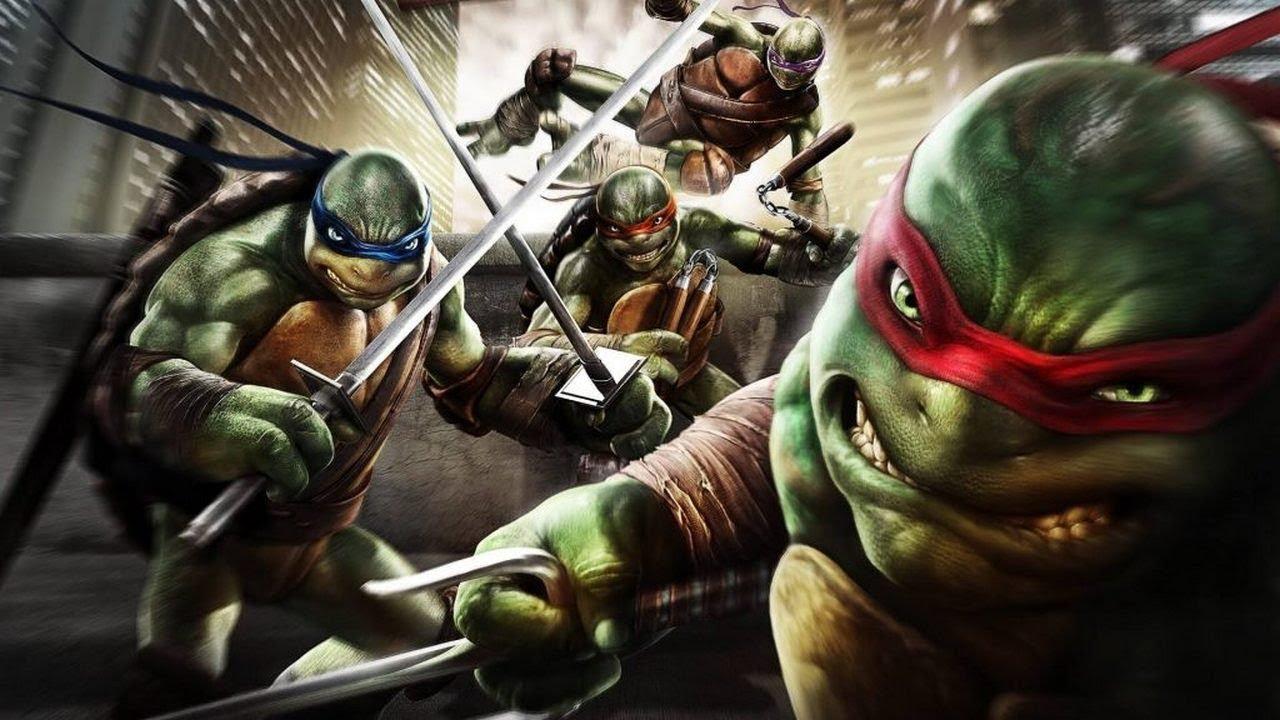 Эволюция черепашек ниндзя в играх! Все игры про черепашек ниндзя