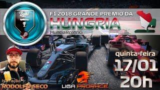 LIGA DE F1 VIRTUAL | F1 2018 PC LIGHT | GRANDE PREMIO DA HUNGRIA 2019 | F1 AO VIVO