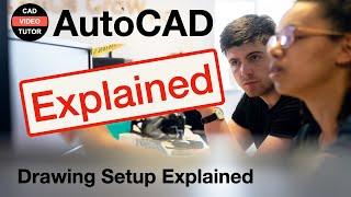 AutoCAD 2012 - Lesson 3 - Drawing Setup & File Management