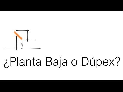Qué Es Más Caro, Planta Baja o Dúplex? Tutorial.