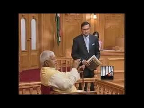 Lalu Prasad Yadav in Aap Ki Adalat (PART 1) - India TV