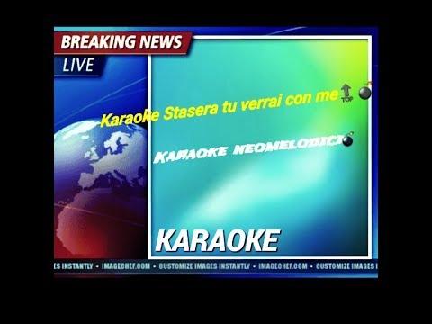 Francesco D'aleo Ft. Niko Pandetta -Stasera tu verrai con me -Karaoke