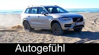 2015-2016 Volvo XC90 D5 Diesel Momentum offroad sand, safety and crash test
